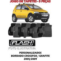 Jogo Tapete De Carpete Crossfox, Grafite 5 Peças, 69077