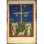 Poster (46 X 61 Cm) Leaf From A Beatus Manuscript:the Lamb