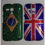 Capa Case Moto G Xt1032 Xt1033 Fashion Strass