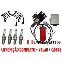 Kit Ignição Eletrônica Fusca Brasilia Kombi 1300 1500 1600