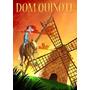Camiseta Estampa Dom Quixote E Sancho Pança