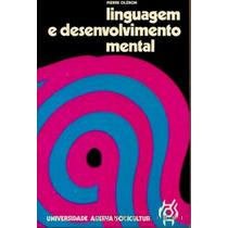 Livro- Linguagem E Desenvolvimento Mental- Frete Gratis