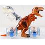 Kit Jurassic World - Indominus Rex E T-rex Vs Gyro Spheres
