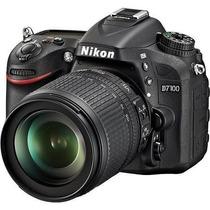 Câmera Nikon D7100 Com Lente 18-105mm F/3.5-5.6g Ed Vr Dx