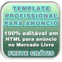 Template Profissional Editável Html P/anúncio Mercado Livre