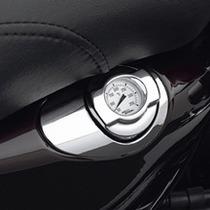 Acessorio Harley - Vareta De Óleo C/ Relógio De Temperatura
