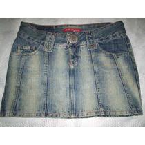 Saia Jeans Sawary Tamanho 40