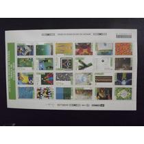 Copa Do Mundo Da França 1998 - Folha Completa Com 24 Selos