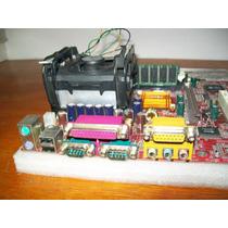 A077-kit Msi 645pro 478 P4 1,6ghz + 256 E Espelho