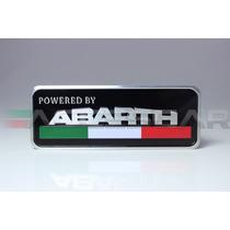 Emblema Powered By Abarth ( Frete Grátis )