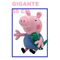 Pelucia George Pig Da Peppa Pig Musical Gigante 55x29cm