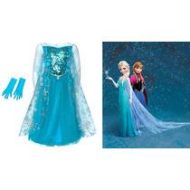 Fantasia Infantil Elsa Frozen Direto Disney Europa