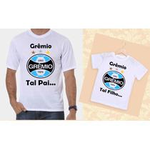 Kit Camisetas Tal Pai, Tal Filho Time