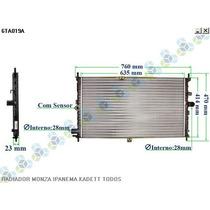 Radiador Resfriamento Monza Sle Efi 1.8 8v 91/92 - Valeo