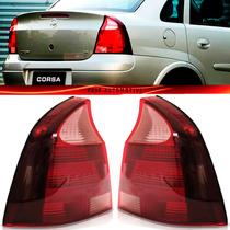 Lanterna Corsa Sedan 2008 2009 2010 2011 08 09 10 11 Rosada