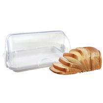 Porta Pão Bolo Torta Organizador Plástico Com Tampa