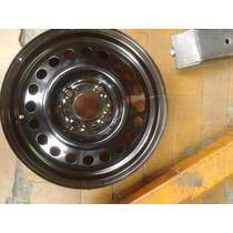 Roda Original Aro 15 De Ferro Nissan Livina Furação 4x114