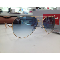 Oculos Ray Ban Rb3025 Aviator Large Metal 001/3f 58