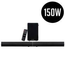 Soundbar Caixa De Som 2.1 Canais 150w Rms Com Bluetooth Mult