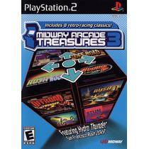 Midway Arcade Treasures 3 Ps2 Original Novo Lacrado