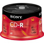 100 Cd-r Sony Midia Virgem Com Logo 700m 48x 80 Min. Lacrado