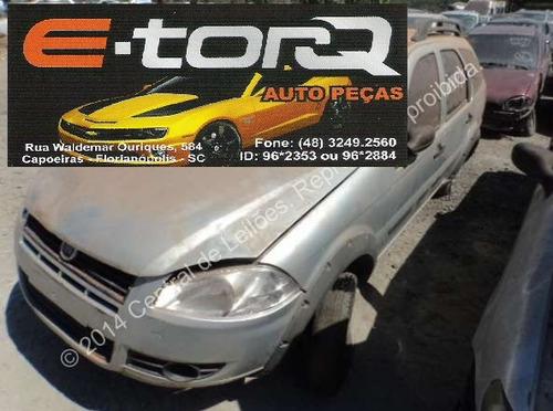 SUCATA PALIO WEEKEND TREKKING 2012 1.6 16V E-TORQ