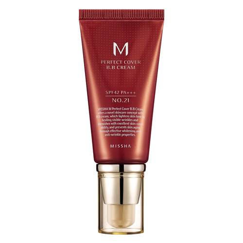 M Perfect Cover Bb Cream 50ml Missha - 21 Light Beige