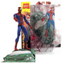 Boneco Spider-man + Venom Marvel Select Comics G.martinelli