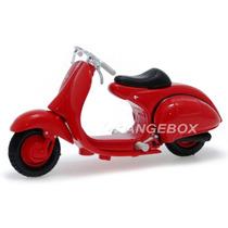 Vespa 98 Corsa 1947 Maisto 1:18 Vermelho 31540-corsa