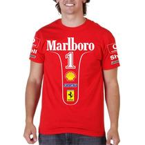 Camisa F1 Ferrari Schumacher 2004 - Fórmula 1