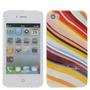 produto Capa Case Listas Coloridas Iphone 4/4s