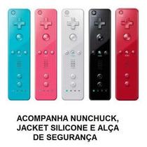 Wii Remote Wiimote Controle Nintendo Wii Todas As Cores