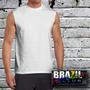 Camiseta Machão Sem Manga - Malha Dry Fit - 100% Poliester