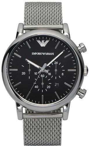 0792e3915d2c4 Relógio Emporio Armani Ar1808 Original + 3 Anos De Garantia