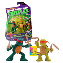 Tmnt Tartarugas Ninja Turtles Training Raphael Michelangelo