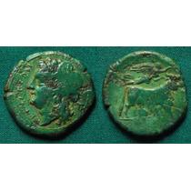 Campania, Neapolis. Moeda Grega Antiga Grécia. Raríssima!!!