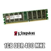 Memória Kingston Ddr400 / 1gb Desktop No Blister Ddr1