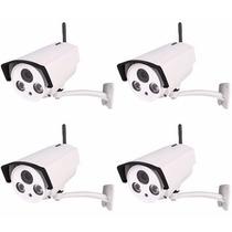 Kit 04 Câmeras Ip Wireles Hd 1.3 Mp Onvif 2.0 Plat.intelbras