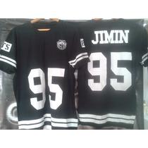 Camiseta K-pop Bts Algodão Unisex Silk Plastsol - Jimin 95