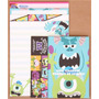 Kit Papel De Carta Monsters University 4 Modelos Diferentes
