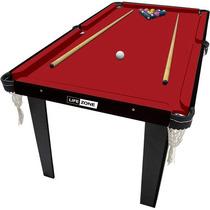 Mesa De Sinuca, Ping Pong E Botão (3 Em 1)