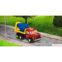 Brinquedo Caminhão Betoneira