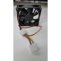 Cooler Fan 80mm Roxline Molex 4 Pinos