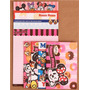 Kit Papel De Carta Minnie Mouse 4 Modelos Diferentes