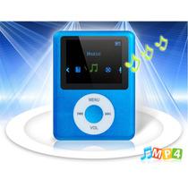 Mp4 Player Tela 1.8 Com Rádio Fm E Microfone (azul)
