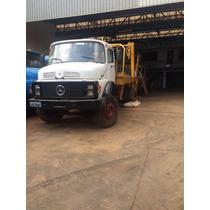 Caminhão Poliguindaste Duplo M_benz + 50 Cacamba P/ Entulhos