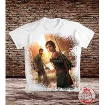 Camiseta Games The Last Of Us
