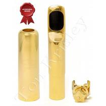 Boquilha Metal Sax Alto Ton Krisley Tradicional Td-7 Gold