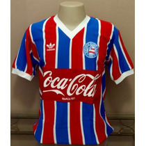 Camisa Retrô Bahia 1988 Listrada - Manto Sagrado Retrô