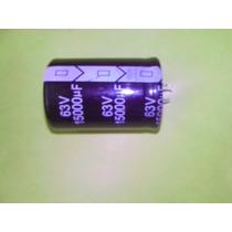 Capacitor Eletrolitico 15.000uf X 63v * 15000uf * 105ºc